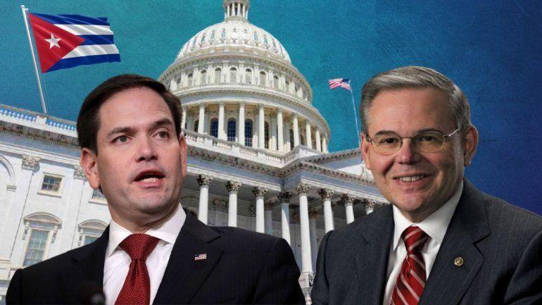 Menéndez y Rubio presentan ley para dar refugio a médicos cubanos