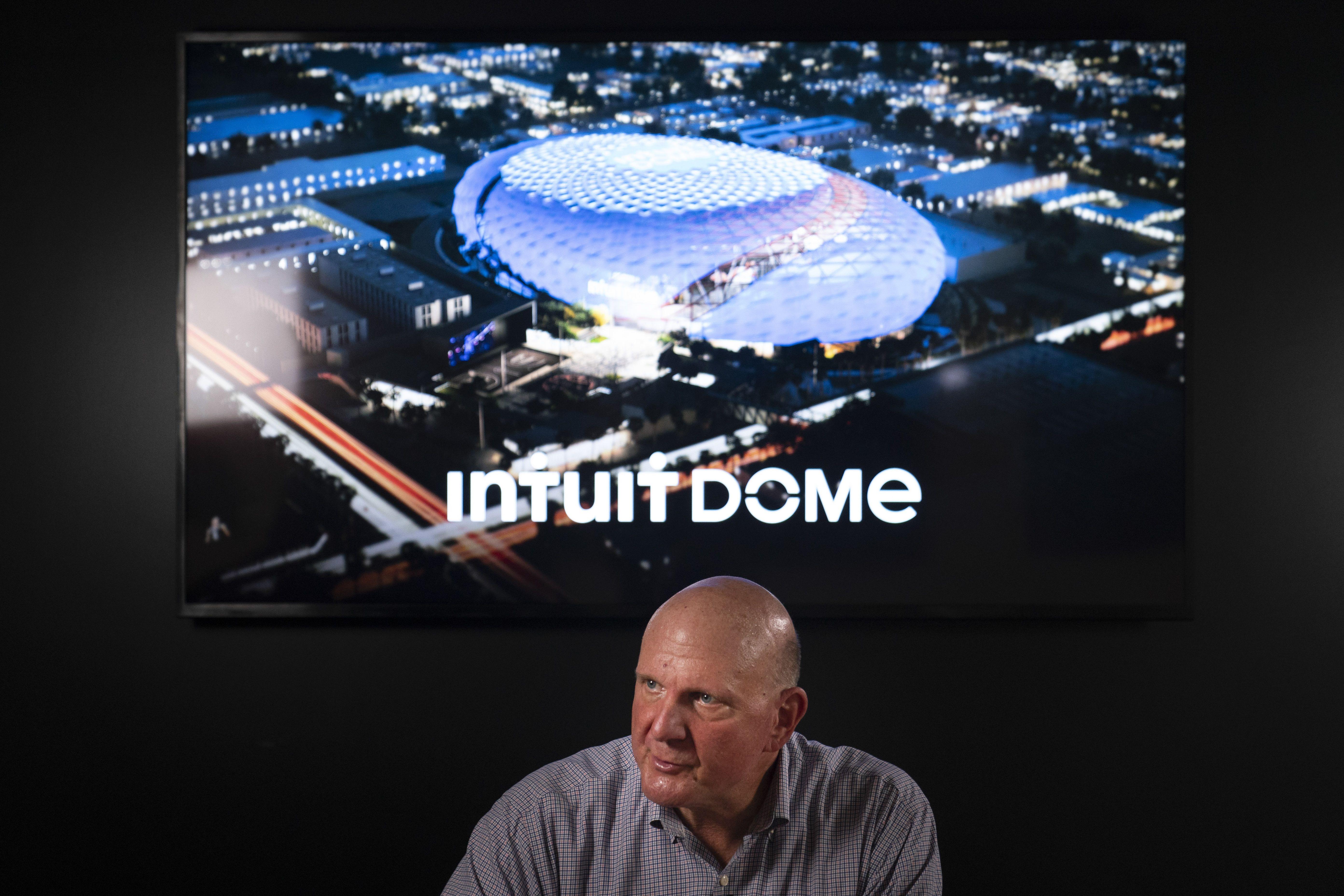clippers inician construccion del intuit dome, su nueva casa