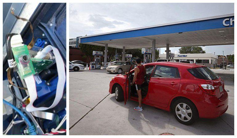 Policía de Hialeah encuentra 7 dispositivos lectores de tarjetas  en gasolineras de esa ciudad