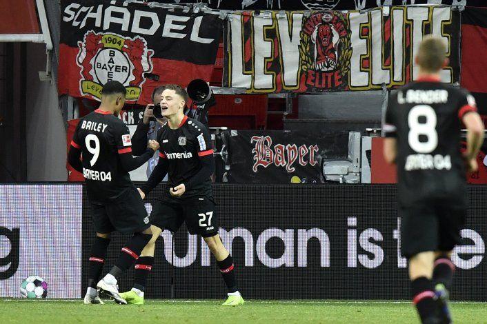 Dortmund sufre otro descalabro, ahora ante el Leverkusen
