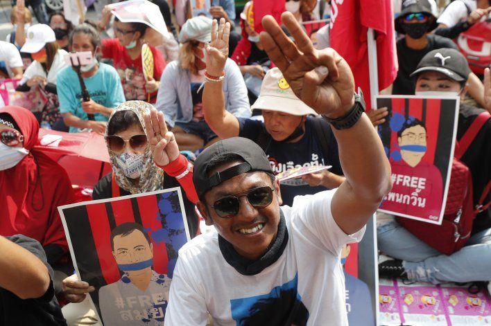 Tailandia acusa de sedición a más activistas