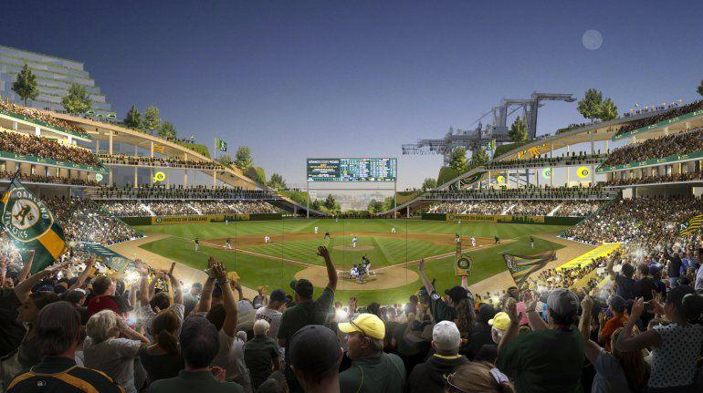 Ciudad de Oakland aprueba plan para parque de Atléticos