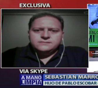 Sebastián Marroquín, el hijo de Pablo Escobar con Félix Guillermo