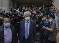 hong kong impone penas de prision a lideres prodemocracia
