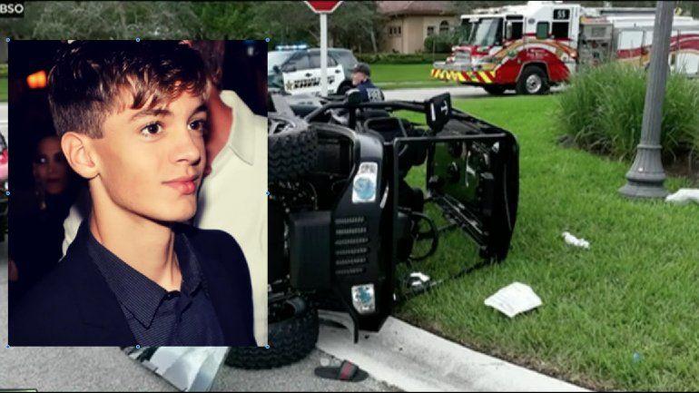 El hijo de William Levy sale del hospital tras su accidente