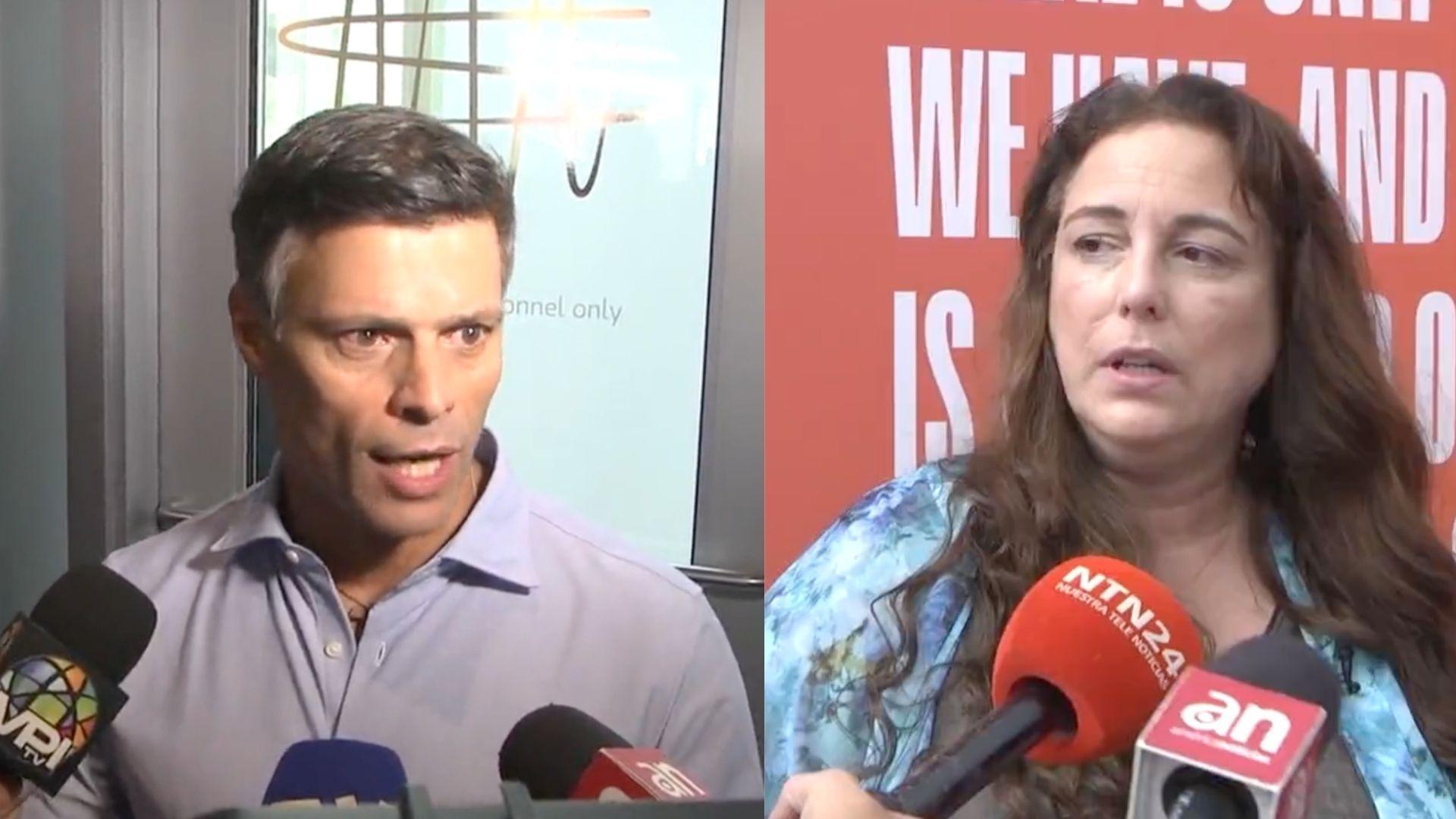 Leopoldo López y Tania Bruguera hablaron en el último día del Oslo Freedom Forum en Miami