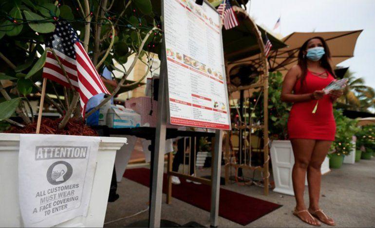 Restaurantes de Miami podrán abrir al 100% de su capacidad a partir de este viernes