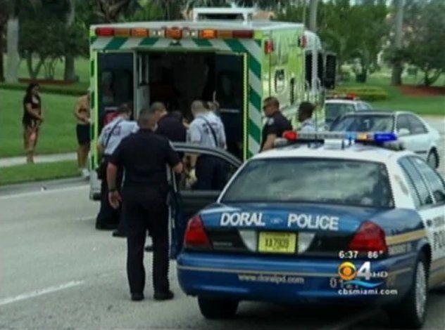 Sospechoso acusado de robar un auto en Hialeah muere después de intentar eludir a agentes en Doral