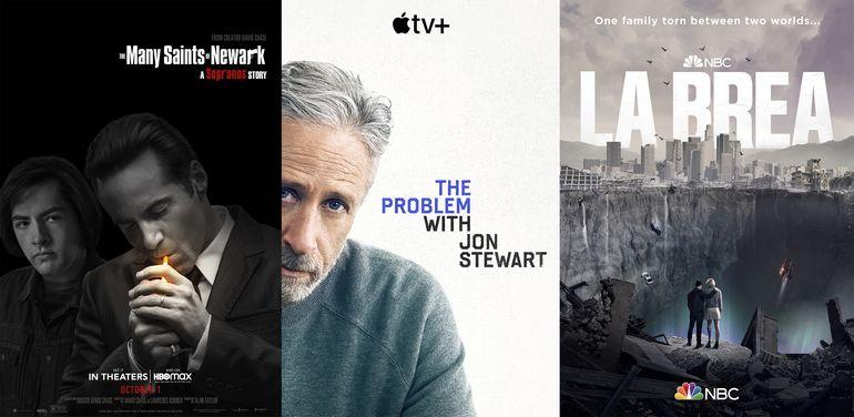 Esta semana: precuela de Sopranos, Jon Stewart y La Brea