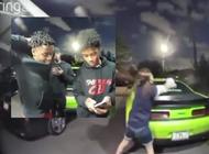 tres jovenes afroamericanos intentaron robar 3 cachorros de una casa y se llevaron una lluvia de balas