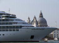 los cruceros grandes ya no podran navegar dentro de venecia