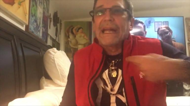 Edmundo García amenaza con suicidarse y dice que el régimen lo envió a Miami