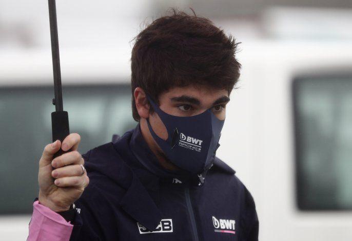 F1: Stroll regresaría en Portugal tras recuperarse de COVID