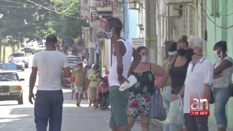 Cubanos protestan en una tienda en La Habana: Está bueno ya de abusos