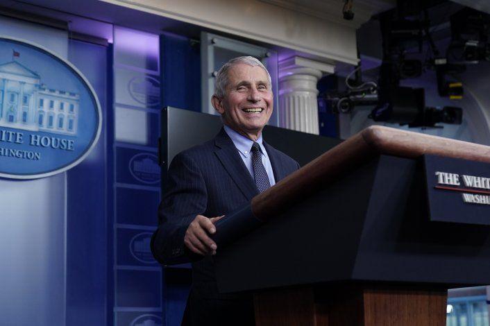 Fauci: Es liberador tener el respaldo de la Casa Blanca