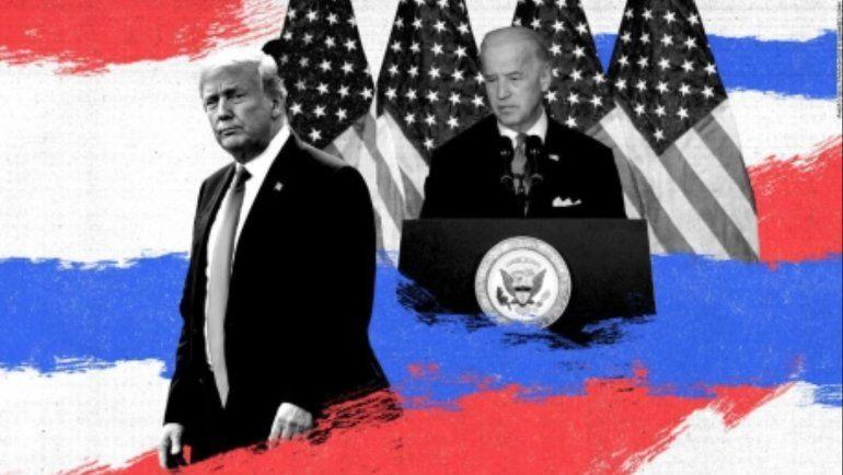 Trump gana en Indiana y Kentucky, y Biden en Vermont