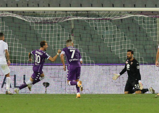 Castrovilli logra 1er gol de la campaña; Fiorentina gana