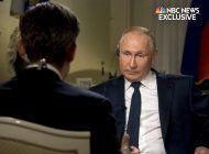 putin compara acciones en rusia con arrestos en el capitolio