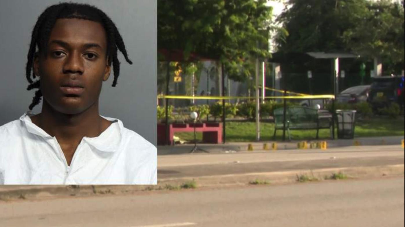 joven arrestado tras asesinar a su propia madre mientras ella esperaba el autobus en florida city