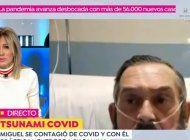el emocionante testimonio de un anestesista con coronavirus: senti las garras de la muerte, esta cepa es mucho mas mortal