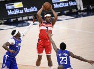 wizards superan a clippers, gracias a 33 puntos de beal