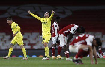 Villarreal elimina al Arsenal y es finalista de Liga Europa