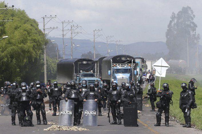 Protestas afectan suministro de oxígeno para UCI colombianas