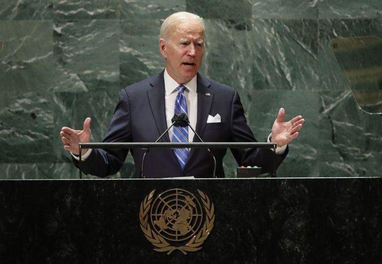 ONU: Biden exhorta a tomar medidas contra cambio climático