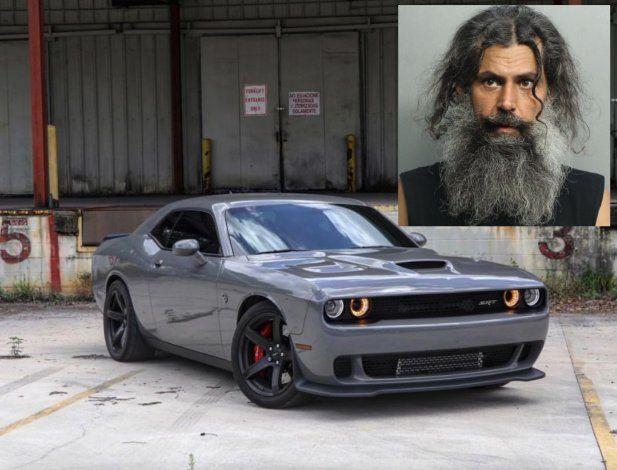 Tras las rejas un hombre de origen cubano por intentar robar un Dodge Challenger en Hialeah