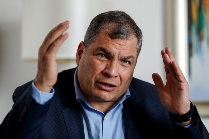 El ex presidente de Ecuador Rafael Correa. EFE/ José Méndez/Archivo