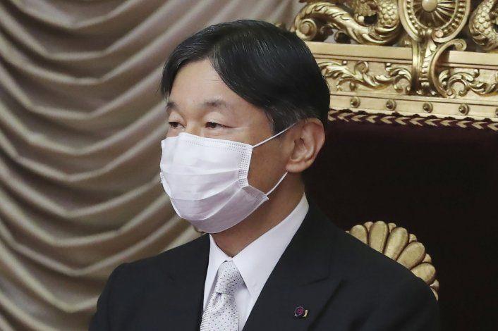 Emperador de Japón está preocupado por unos Juegos pandemia