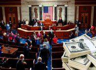 eeuu: senado aprueba paquete de rescate covid-19 de 1,9 billones de dolares