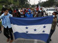 migrantes hondurenos inician la larga marcha hacia eeuu