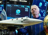 en vivo: la nave espacial con el multimillonario richard branson a bordo regreso con exito a la tierra
