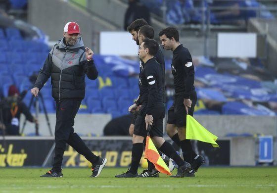 Liverpool pierde puntos ante Brighton; agrava enojo de Klopp