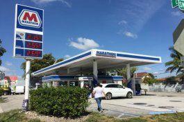 los precios de la gasolina en florida:  los mas altos en 11 meses