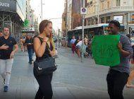 un cubano sorprende con su baile en las calles de madrid