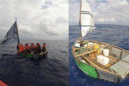 guardia costera repatria a siete cubanos rescatados en altamar