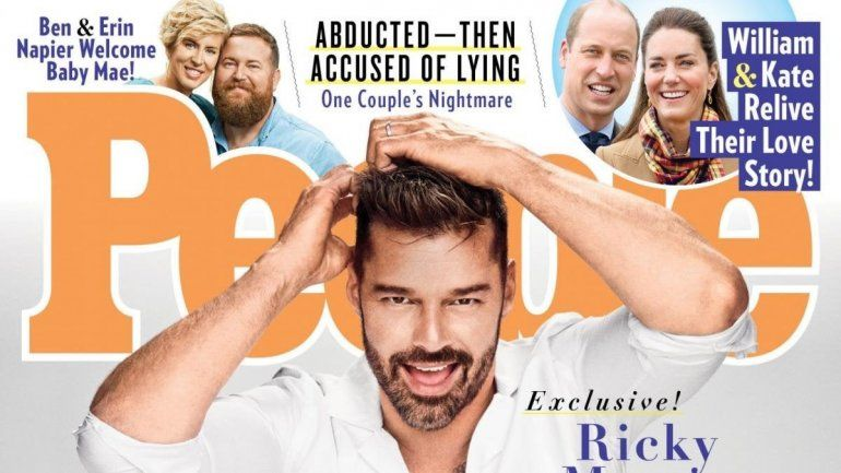 Ricky Martin se destapa: fue mi padre quien me dijo que saliera del closet