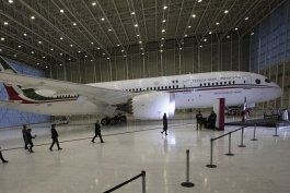 mexico: cumple 3 anos intento de vender avion presidencial
