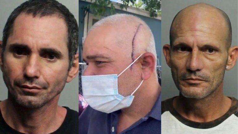 Tras las rejas dos cubanos de Miami por atacar a machetazos a un hombre acusándolo de tener una relación sentimental con la mujer de uno de ellos