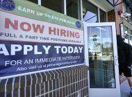 la economia de eeuu se fortalece: crea 379.000 empleos