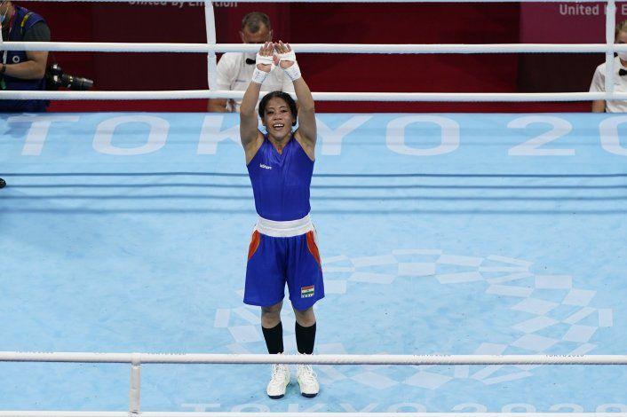 Boxeadora Mary Kom no descarta París 2024 tras caer en Tokio