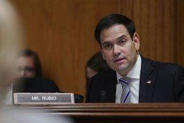 Marco Rubio envió una carta al presidente Joe Biden para que trate el tema de los ciberataques con Putin