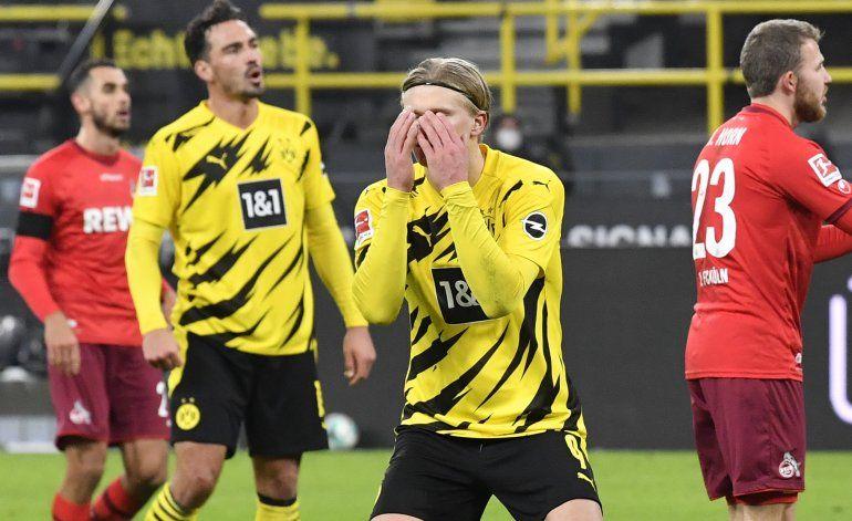 Dotmund cae en casa; Bayern amplía ventaja en Bundesliga