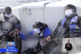 capturan a 3 bahameses con una tonelada de marihuana frente a las costas del oriente de cuba
