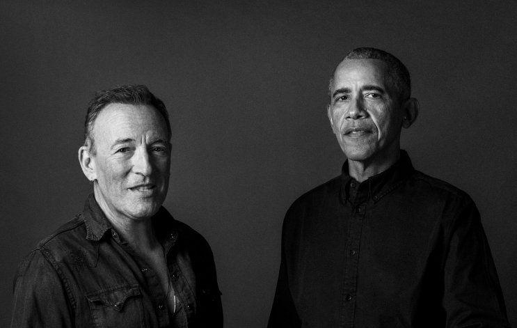 Obama y Springsteen publican su libro Renegades en octubre