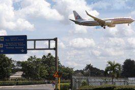 american airlines mantendra en el mes de marzo solo un vuelo semanal miami-la habana