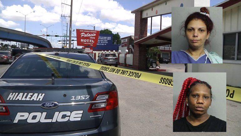 Revelan la identidad de las mujeres involucradas en el asesinato de un narcotraficante en un motel de Hialeah