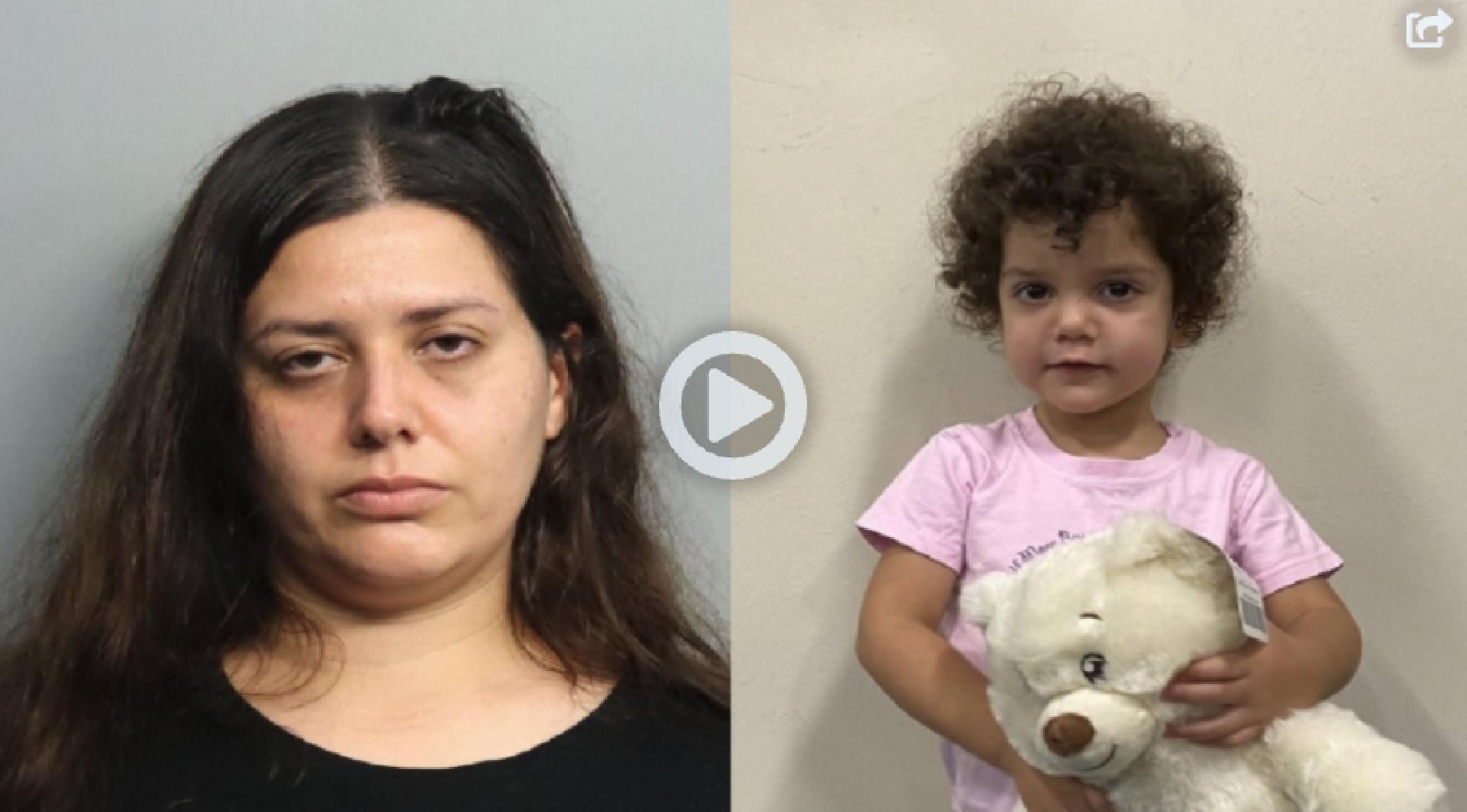 policia: arrestan a madre tras abandonar su nina en un hospital en miami